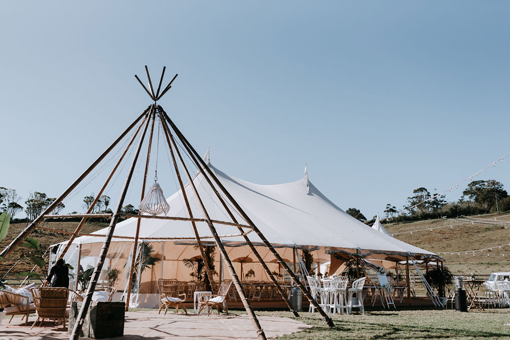 Byron Bay Bangalow Wedding Venue Hinterland Luxury Planning Styling Inspiration Garden Sperry Tent Flowers
